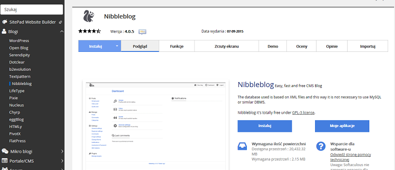 Nibbleblog