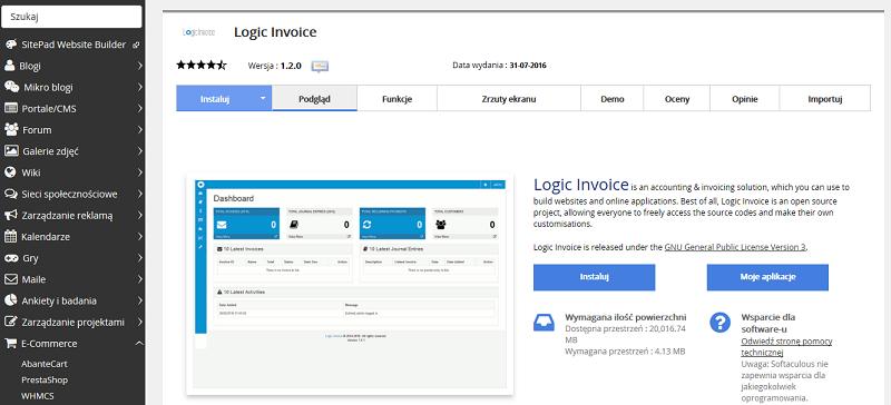 Logic Invoice