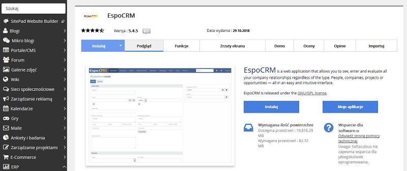 EspoCRM - Servizza PL - Baza Wiedzy