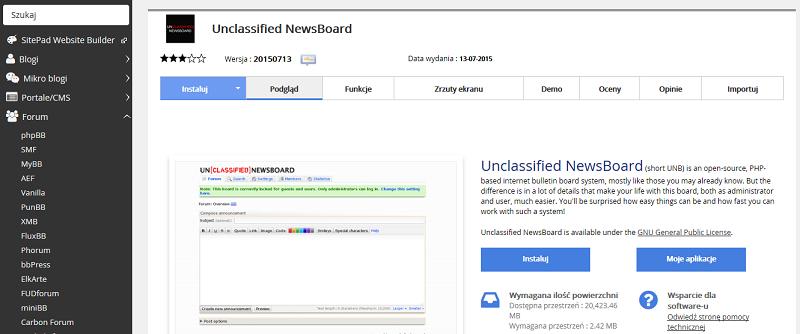 Unclassified NewsBoard