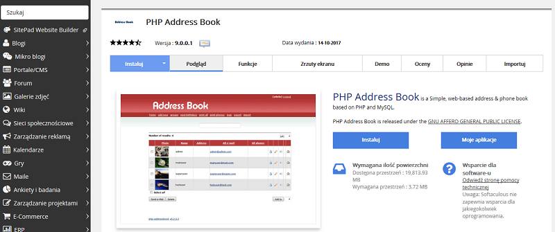 PHP Address Book