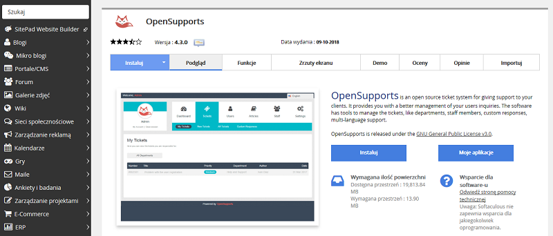 OpenSupports