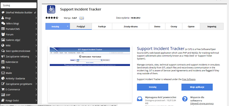 Support Incident Tracker