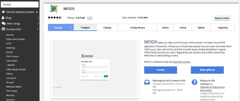 cms-MODX