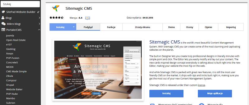 Sitemagic CMS
