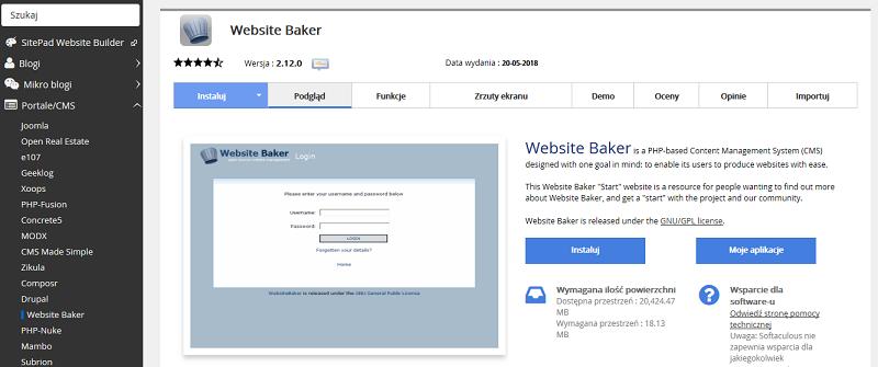 Website Baker
