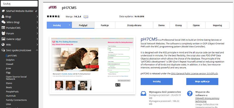pH7CMS