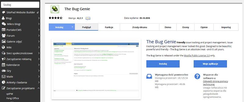 The Bug Genie
